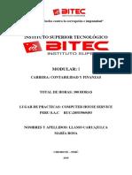 PDF Informe de Practicas Maria Rosa Anita Llamo Caruajulca.