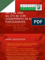 Juzgamiento de Altos Funcionarios- Colombia