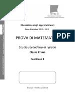 Matematica 2012-2013 Prima