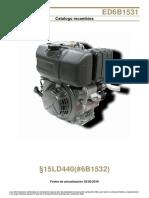 Motor Lombardini 15ld440 k Ed6b1531