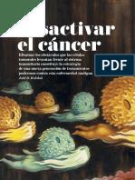 Desactivar el cáncer