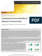 ESG Economic Validation Atlassian Jira Service Desk