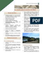 Ficha Prev. Accidentes Traf., Atropellos, Golpes Con Vehiculos. Infoex