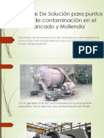 Alternativas de Solución Para Puntos Críticos de Contaminación