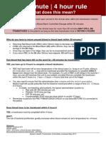 Eastern Health 30 Minute 4 Hour Rule 2017 PDF