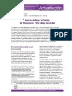 Sobre crecimiento de Latinoamerica