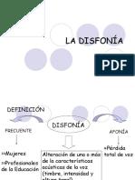 disfonia