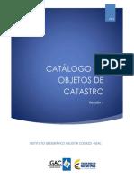 Anexo 6. Catalogo de Objetos Catastrales