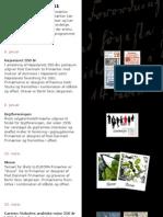 Frimærkeprogram 2011