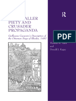 Vann & Kagay - Hospitaller Piety and Crusader Propaganda; Guillaume Caoursin's Description of the Ottoman Siege of Rhodes, 1480 (2015)