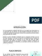 Operaciopnes Placa Orificio