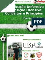 Organização Defensiva e Transição Ofensiva Conceitos e Princípios