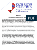 newsletter what missionaries do outside evangelizing