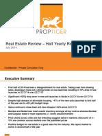 Proptiger - Half Year (2014) Market Assessment.pdf
