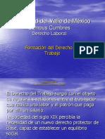 Derecho_Laboral. Formacion Del Derecho Del Trabajo