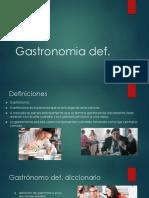 Gastronomia Def