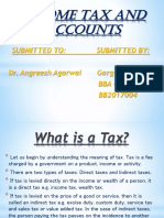 Income Tax and Accounts Ppt
