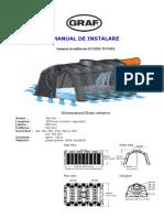Manual de Instalare Tunel de Infiltratie a Apei in Sol 1 2016