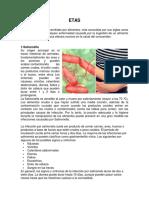 Las enfermedades transmitidas por alimentos