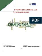 Efecte Interne Și Externe Alte Standardizării