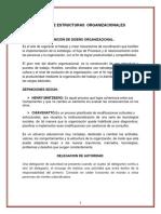 Diseño de Estructuras Organizacionales