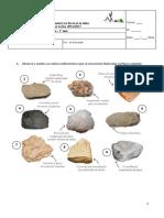 T1 - Paisagens e Minerais