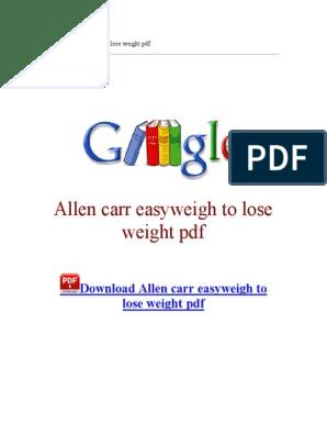 allen carr leisurely course en route for drop mass pdf