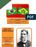 Dominox Sobre República Velha Pp