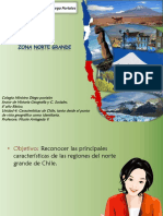 Macrozonas Geográficas de Chile
