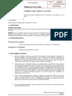 PR-GB-HSEC-12 - Trabajos en altura
