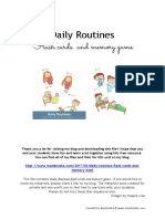 daily routines.pdf