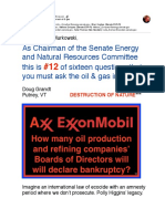 #12 of Sixteen Questions You Must Ask Oil & Gas