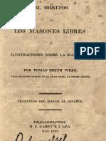 014   El Monitor De Las Masones Libres 1822 Spanish - Webb.pdf