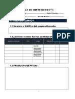 Plan de Negocio (formato)