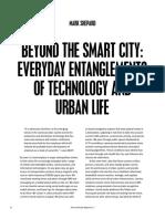 Beyond the Smart City