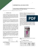 Informe 6 - Calor Diferencial de Solución