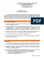 Lei Orgânica de José Bonifácio