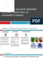 alzheimer disease prediction