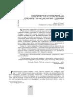 06. Angazovanje Republike Srbije u Partnerstvu Za Mir