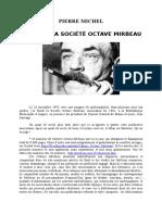 Pierre Michel, « Bilan de la Société Octave Mirbeau »
