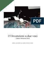 Sax Invenzioni a Due Voci Sassofono F.marini
