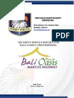 SECURITY SURVEY BALI OASIS Final.PPTX