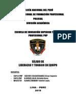Silabus Liderazgo y Trabajo en Equipo[1]