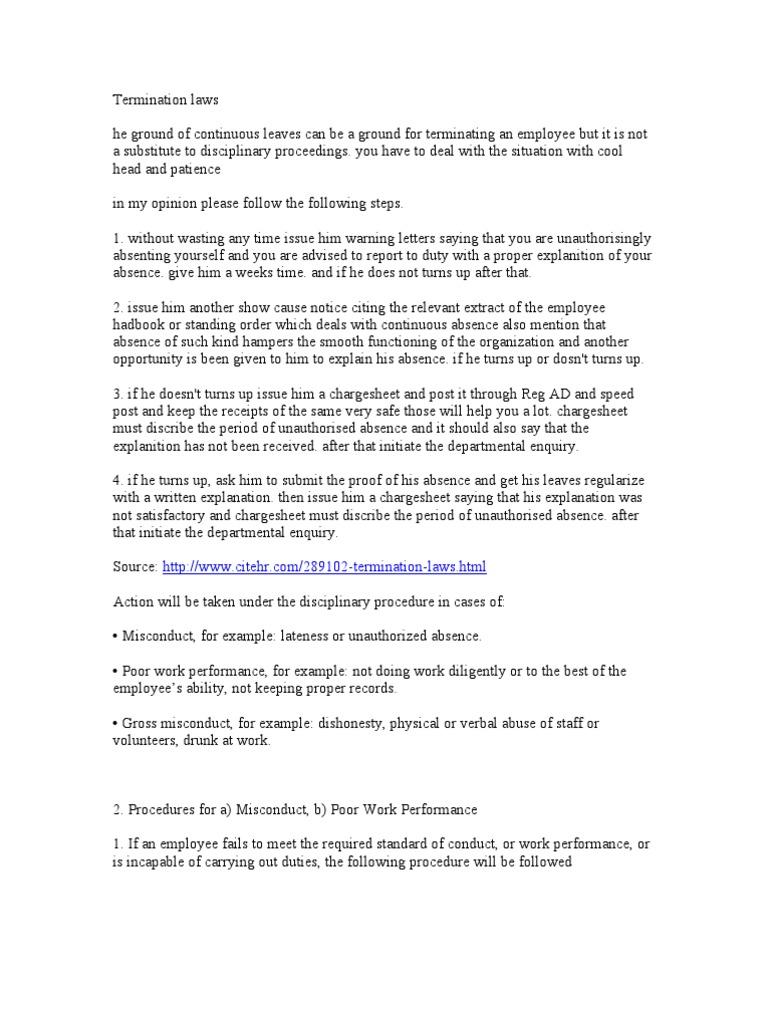 Termination laws collective bargaining employment spiritdancerdesigns Images