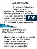 Teóría da Burocracia.ppt