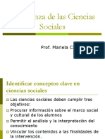 Enseñanza de Las Ciencias Sociales BENEJAM