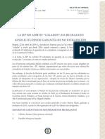La JEP No Admite Colados- Ha Rechazado 43 Solicitudes de Garantias de No Extradicion- Df