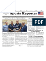 April 24 - 30, 2019  Sports Reporter