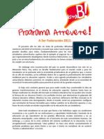 Programa FEUV 2011