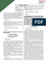 Perú Protocolo Salud CEM